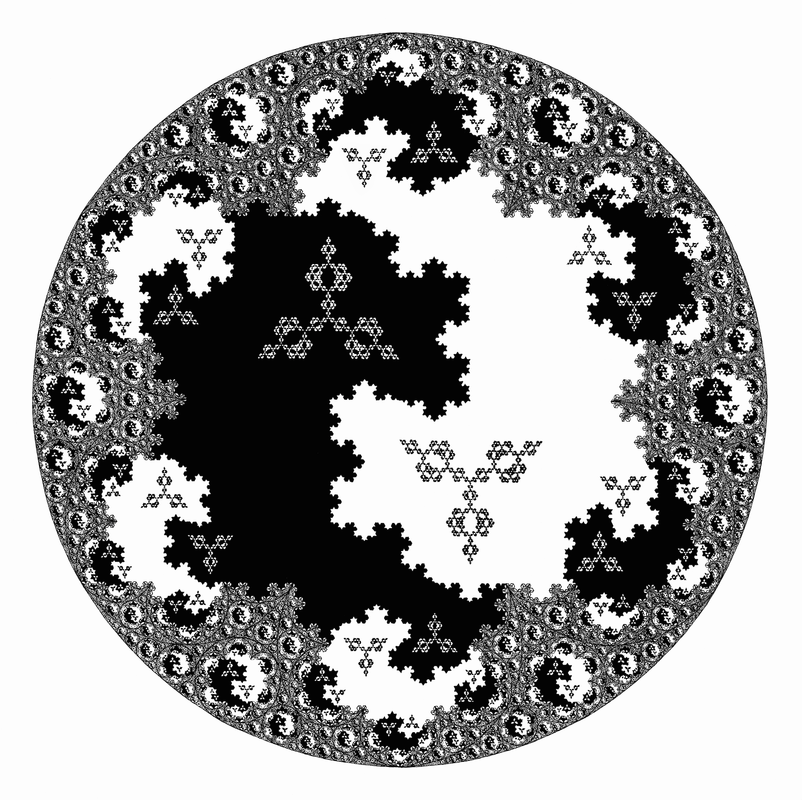 fractal taijitu